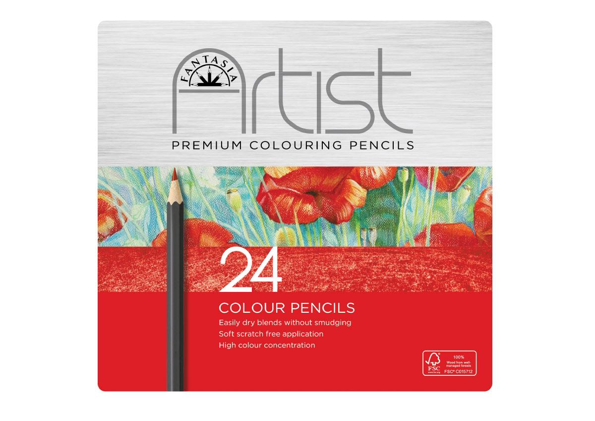 Fantasia Colored Pencils 24 Set
