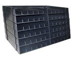 The Ultimate Pen Storage Rack Pack of 6 (Holds 72 Pens!) Black