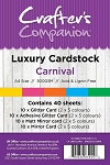 Luxury Cardstock Pack 40 ct - Carnival