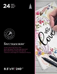 Hand Lettering Decor Project Paper Pad - Loved