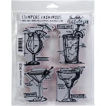 Tim Holtz Stamp Cocktails 7x8.5