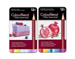 New ColourBlend 24 Pencil Bundle - Soft Tints & Bold Brights