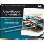Spectrum Noir AquaBlend Watercolor Pencils - Naturals
