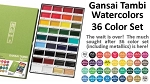 Gansai Tambi 36 Watercolors