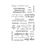 Stamp Set Sayings - To Seize or Not to Seize