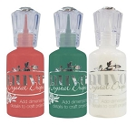 Nuvo Crystal Drops - Set of 3 - Holiday
