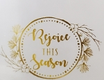 Gemini FoilPress Foil Stamp Die - Rejoice This Season