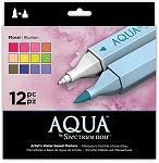 Spectrum Aqua Markers Floral 12 pc Set