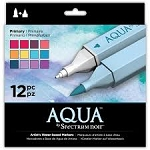 Spectrum Aqua Markers Primary 12 pc Set