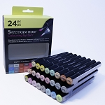 Spectrum Noir Alcohol Markers - Lights 24 Piece Set
