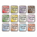 Tim Holtz Distress Oxide Ink Set #4 12 Pad Bundle July '18 Release