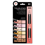 NEW TriBlend 3-in-1 Marker 6 Portrait Blends