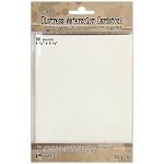 Tim Holtz Watercolor Cards 4.25x5.5  20 pk