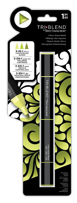 TriBlend - Citrus Green - 3-in-1 Alcohol Marker by Spectrum Noir