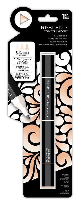 TriBlend - Fair Skin - 3-in-1 Alcohol Marker by Spectrum Noir