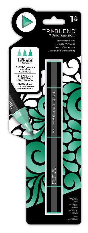 TriBlend - Jade Green - 3-in-1 Alcohol Marker by Spectrum Noir