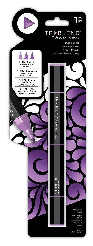 TriBlend - Purple - 3-in-1 Alcohol Marker by Spectrum Noir