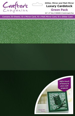 Luxury Cardstock Pack 30 ct - Green