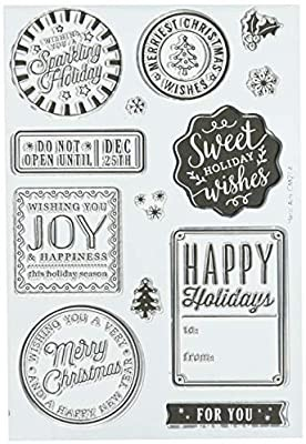 Stamp Set Sayings - Holiday Badges