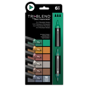 NEW TriBlend 3-in-1 Marker 6 Woodland Shades