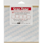 Scor-Tape Sheets 5 pk 6x6