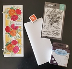 Floral Slimline Card Kit