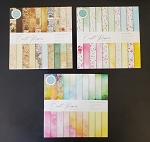 Card Maker 6x6 Pads D - 120 Double Sided Sheets Light-Vintage-Wild
