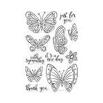 Stamp Set New Day Butterflies