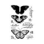 Color Layering Stamp Set Monarch Butterfly