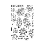 Stamp Tropical Flowers
