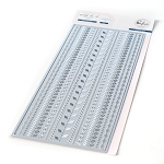 NEW! Slimline Card Die - Slim Stitches