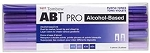 ABT PRO Alcohol Markers Purple Tones 5pk