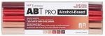 ABT PRO Alcohol Markers Red Tones 5pk