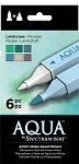 Spectrum Aqua Markers Landscape 6 pc Set