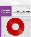 Double Sided Red Line Tape 12mmx10m