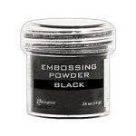Ranger Embossing Powder Black .5oz