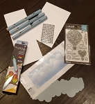 Hot Air Bloom Card Craft Along Kit Deluxe