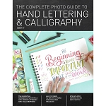 Hand Lettering & Calligraphy Book 192 pgs