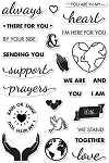 Stamp Support Prayers Love