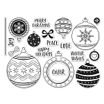Ornaments Stamp Set 6