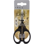 Tim Holtz  Non-Stick Micro Serrated Mini Snip Scissors 5