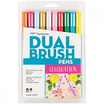 Tombow Dual Brush Pens 10 pk Celebration