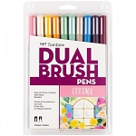 Tombow Dual Brush Pens 10 pk Cottage