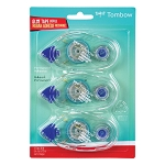 Tombow Mono Adhesive 3 Refill Permanent Value Pack