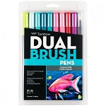 Tombow Dual Brush Pens 10 pk Tropical