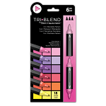 TriBlend 3-in-1 Marker 6 Floral Blends