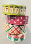 Washi Tape Bundle #1 - 4 Rolls