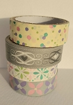 Washi Tape Bundle #3 - 4 Rolls