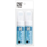 Zig Two Way Glue Pen Jumbo Broad Tip 2 pc