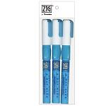 Zig Two Way Glue Pen Fine Roller Ball 3 pk